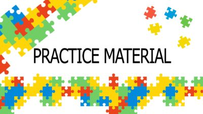 practice materials for learning english